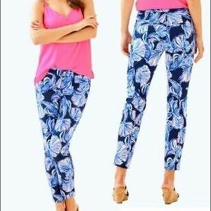 Lilly Pulitzer KELLY ANKLE LENGTH SKINNY PANT 0